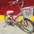16インチ 子供用自転車 ハードキャンディー ピンク