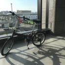 折りたたみ自転車 (20inch軽量タイプ)  変速機能付き