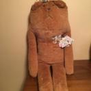 新品 クマのぬいぐるみ 抱き枕