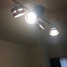 【送料無料】★使用歴1年以内★ヤザワ シーリングライトLEDひも式 4灯