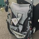 ベビーカー新生児(2ヶ月から)もOK! 折りたたみ可能、荷物カゴ付...