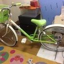 女の子用自転車22インチ