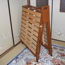 折り畳み式スノコベッド