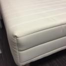 白色シングルベッド(値段交渉可)