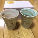京焼 清水焼 ペアカップ 【値下げしました】