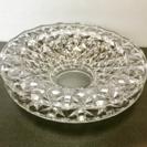 高級ガラス灰皿  4枚セット  5×22センチ