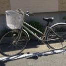 27インチ3段変速付き自転車