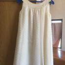 美品だと思います。ピアノの発表会で使用したドレス。130センチ。