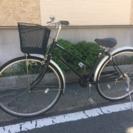 【カゴ、鍵、新品】27インチ自転車