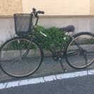 【セール】26インチ自転車 ブラック