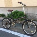【折りたたみ自転車】20インチ6段変速