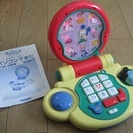 ミッキーのおもちゃのパソコン♪「パソコンできた」(中古)