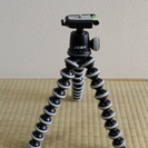JOBY ゴリラポッド SLR-ZOOM+自由雲台