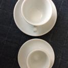 JBAのデミタスカップとコーヒーカップ