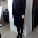 就活用レディーススーツ(黒)