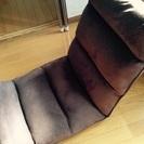 【美品】低反発座椅子 ブラウン(42ギア)