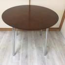直径90センチの円テーブル☆ダイニングテーブル