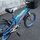 子供用自転車 16インチ 男の子用 青色
