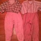 介護用パジャマ4着 Mサイズ
