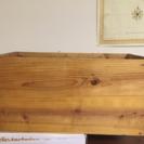 リンゴの木箱