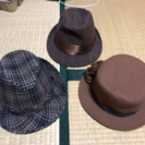 レデイース帽子