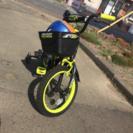 16インチ補助輪付き自転車  美品