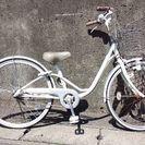 (商談中)女の子用自転車です。【ブリジストンBAA】(引き取り限定)