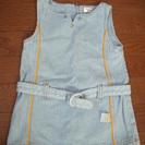 デニムジャンパースカート サイズ90