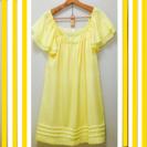 yellow ワンピース 渋谷PARCOにて購入 ひざ丈です♪