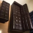 お洒落なソファベッドです。【中古】