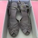 婦人靴 グレー