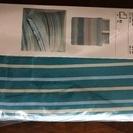 IKEAの布団カバー(200×200センチ)&枕カバ-(50×60...