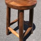 原木 腰掛け椅子 チェア おしゃれ家具