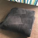 黒い 毛布 (春、秋オススメ)