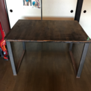 テーブル 鉄脚