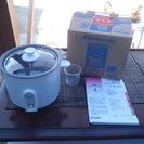 (終了)ミニクッカー 炊飯器 SR-03GP-W Panasonic