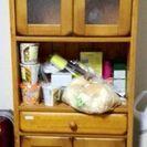 食器棚差し上げます。