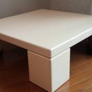 机 ローテーブル 白 ホワイト テーブル あげます 中古