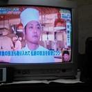 地デジチューナー付きブラウン管テレビ