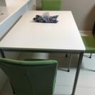 折りたたみダイニングテーブル 椅子3脚セット