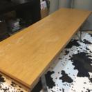 お譲りします!低めの木目調テーブル