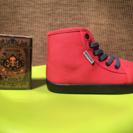 新品 可愛い子供靴 ★ 17cm 男女兼用
