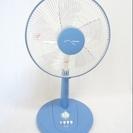 0053■TEKNOS リビング扇風機 KI-131(B) ブルー...