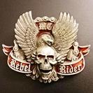 Rebel Rider ベルトバックル