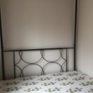 天蓋ベッド 210cm×50×140