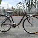 ♪ジモティー特価♪クラス27リヤキャリア付き26型リサイクル自転車...
