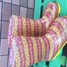 キッズ用長靴 19cm イタリアデザイン FIORUCCI(200円)