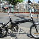 ♪ジモティー特価♪Jeep 16型折りたたみ中古自転車 シマノ外装...