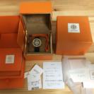 トリーバーチ 腕時計ネイビー×ゴールド