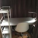 【値下げしました】机&椅子